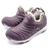 《7+1童鞋》中童 NIKE DYNAMO FREE SE (PS) 毛毛蟲鞋 運動鞋 冬季限定款 保暖內刷毛 F847 紫色