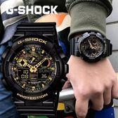 【人文行旅】G-SHOCK   GA-100CF-1A9DR CASIO 卡西歐 手錶