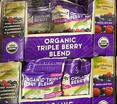 [COSCO代購 需低溫宅配] C96359 EARTHBOUND FARM ORGANIC TRIPLE BERRY BLEND 有機冷凍三種綜合莓1.36KG