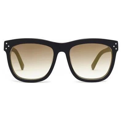 pektre MILANO 太陽眼鏡黑框漸層金色