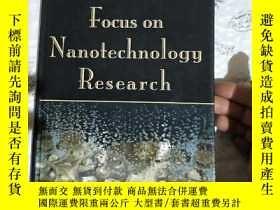 二手書博民逛書店Focus罕見on Nanotechnology Researc