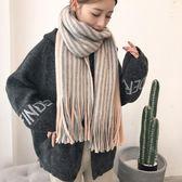 韓版圍巾女冬季百搭毛線針織 LQ353『miss洛羽』