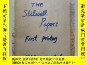 二手書博民逛書店THE罕見STILWELL PAPERS外文原版(1948年初版