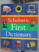 【書寶二手書T4/少年童書_ZDK】Scholastic first dictionary_Levey