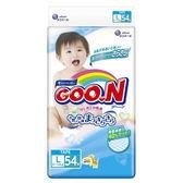 《GOO.N》 日本大王紙尿褲境內版(L54片x4包)/箱-箱購