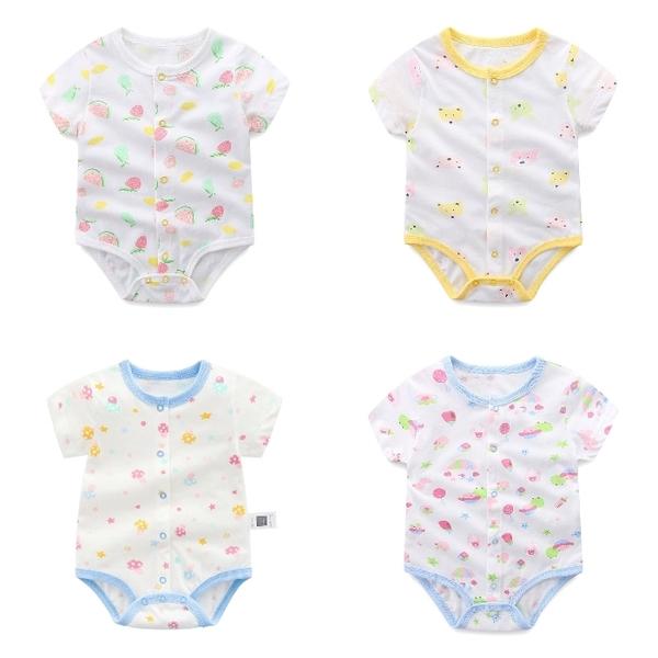短袖連身衣 包屁衣連身裝 棉質嬰兒服 兔裝 寶寶童裝 NT2126 好娃娃