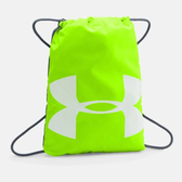 Under Armour UA Ozsee Sackpack [1240539-390] 健身袋 束口袋 抽繩 輕量 綠