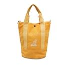 Kangol 托特包 Tote Bag 黃 白 男女款 袋鼠 側背包 兩用 【ACS】 6925300860