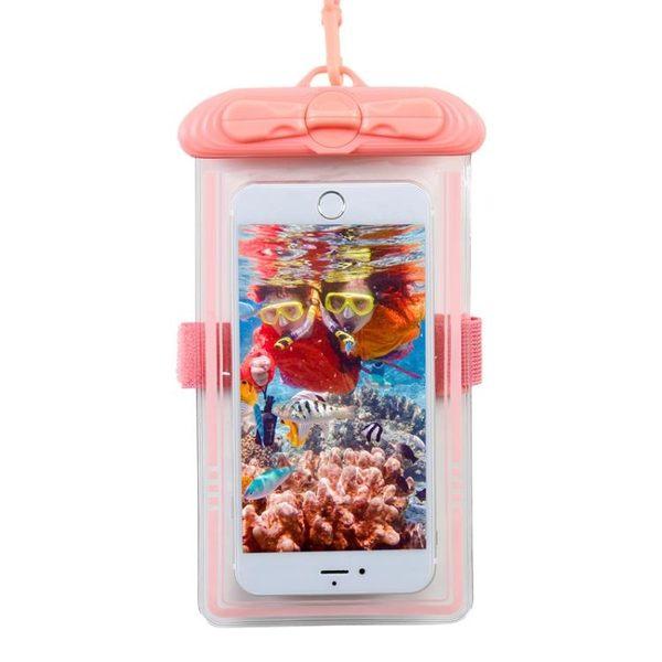 【618好康又一發】手機防水袋 潛水套通用游泳