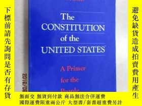二手書博民逛書店英文書罕見THE CONSTITUTION OF THE UNI