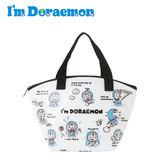 【日本正版】哆啦A夢 防潑水 保冷袋 手提袋 便當袋 小叮噹 DORAEMON 三麗鷗 Sanrio - 885314
