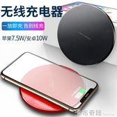 無線充電器iPhoneX蘋果8Plus專用安卓小米S9三星S10通用華為快充P 卡布奇諾