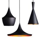 簡約西餐廳燈具單頭咖啡廳吧臺創意復古工業風黑色三頭樂器小吊燈 亞斯藍
