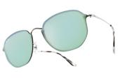 RayBan 水銀太陽眼鏡 RB3579N 00330 (銀) 潮流時尚款 # 金橘眼鏡