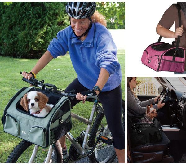 ★美國PET GEAR.【PG-1450】三合一腳踏車寵物坐椅/寵物背包/汽車安全坐椅.小型犬貓適用