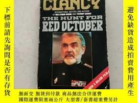二手書博民逛書店THE罕見HUNT FOR RED OCTOBER獵殺紅色十月(