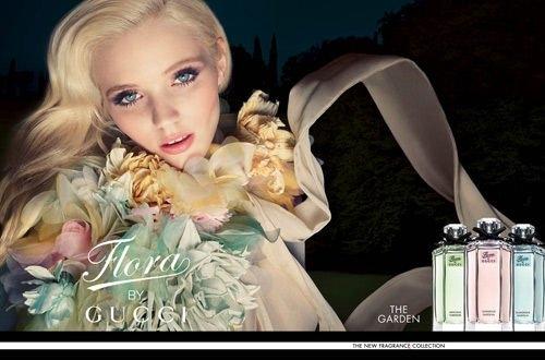 Gucci 花園香氛 Flora Gorgeous 華麗梔子花 女性淡香水 5ML香水分享瓶◐香水綁馬尾◐