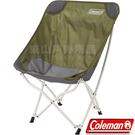 Coleman CM-36430綠橄欖 包覆型休閒療癒椅 中座椅/摺疊椅/隨行椅/露營躺椅/野餐桌椅 公司貨