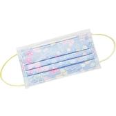 小禮堂 Hello Kitty 成人不織布口罩組 平面口罩 防護口罩 拋棄式口罩 (30入 紫 蝴蝶結) 4712977-46750