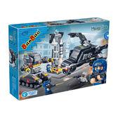 超級警察系列NO 6207 巨鯊基地與樂高Lego 相容大盒【BanBao 邦寶積木楚崴】