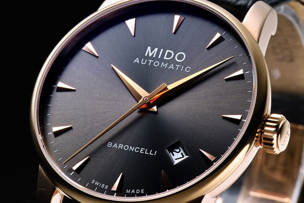 MIDO  Baroncelli 系列 自動機械腕錶 M86003134 玫瑰金色