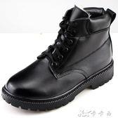 軍工冬季羊毛保暖棉皮鞋軍靴男特種兵戶外工裝雪地靴軍勾 卡卡西
