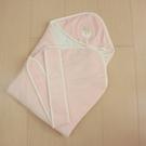 GMP BABY台灣製素色羊絨包巾1件