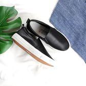 好評推薦悅愛朵平底女春秋季新款樂福鞋休閒透氣小白鞋單鞋一腳蹬懶人學生