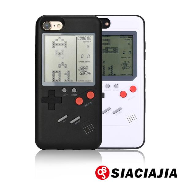 SCJ iPhone SE2/7/8 4.7吋 俄羅斯方塊掌上遊戲機手機殼(福利品)