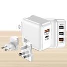 TOTU PD/Lightning/Type-C/iPhone充電器充電頭快充頭 USB QC 全球轉接頭 銳系列