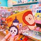 正版 戽斗星球 票卡零錢二用包 收納包 零錢包 票卡包 票卡零錢包 獅子合照款 COCOS WZ075