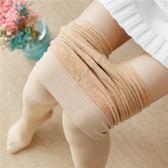 光腿神器秋冬季加絨打底襪顯瘦保暖肉膚色絲襪性感加厚踩腳襪子女