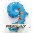 """18吋動物數字氣球-蛇-""""9""""/個(未充氣)~~鋁箔氣球/求婚道具/尾牙佈置/"""