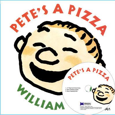 【麥克書店】PETE PIZZA /硬頁書+CD《主題:想像》