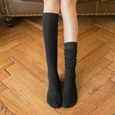 長筒襪 長筒襪子女韓國中筒襪韓版學院風小腿襪日繫秋冬及膝高筒過膝襪潮 coco衣巷