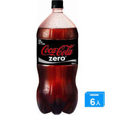 可口可樂CocaColazero寶特瓶2L*6瓶【愛買】