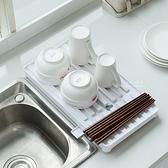 廚房餐具收納瀝水托盤 瀝水架 碗盤架 餐具架