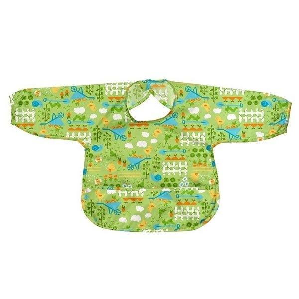 美國 Green Sprouts 小綠芽 長袖防水遊戲衣-翠綠草原