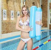 游泳圈大人兒童便攜加厚大號水上浮床充氣浮排漂浮毯玩具氣墊