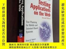 二手書博民逛書店Testing罕見Applications On The Web在網上測試應用程序Y12880 Hung Q.