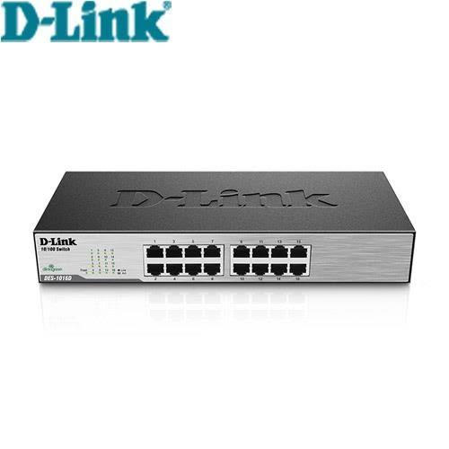 D-Link 16埠 桌上型乙太網路交換器 DES-1016D(G1)【原價:1399▼現省300元】