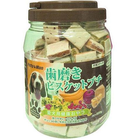 【培菓平價寵物網】PettyMan《家庭號》烘培點心 (3種口味*1桶)