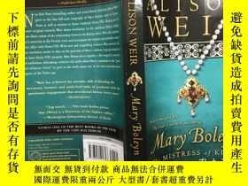 二手書博民逛書店Mary罕見Boleyn: The Mistress of Ki
