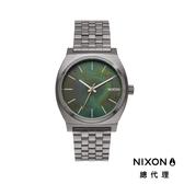 【官方旗艦店】NIXON TIME TELLER 極簡小錶款 綠圖紋錶面 潮人裝備 潮人態度 禮物首選