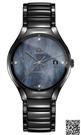 RADO True系列時高科技陶瓷腕錶-R27056872黑40mm