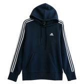 Adidas ESS 3S P/O B  連帽長袖上衣 CD8696 男 健身 透氣 運動 休閒 新款 流行