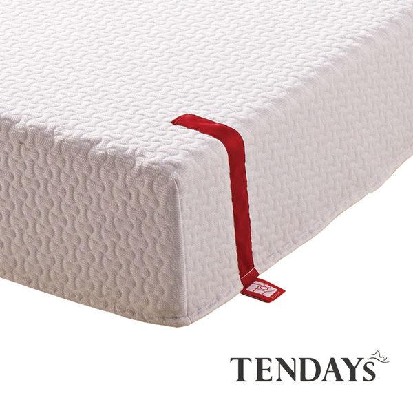 床墊-TENDAYs 6尺 雙人加大20cm厚-柔織舒壓記憶床墊
