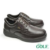 【GOLF】手工氣墊休閒商務鞋 深咖(GF2515-DBR)