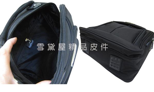 ~雪黛屋~CONFIDENCE 側背包中容量台灣製造品質保證二層主袋高單數防水尼龍布70/200DACB1191