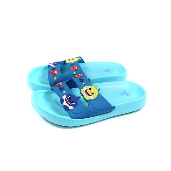 碰碰狐 鯊魚寶寶 BABY SHARK 拖鞋 戶外 藍色 中童 童鞋 PIKS96536 no893